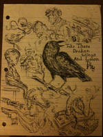 Black Bird by jellyfish4321