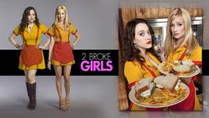2 Broke Girls Wallpaper 3 by Alexandreholz
