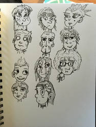 Style Development - Faces by DrewCopenhaver