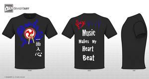 Taiko Tshirt by KingdomHeartBreakers