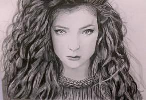 Lorde by Leenke
