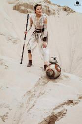 Rey Star Wars Cosplay by arijana1988