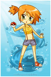 Pokemon - Misty by CplSquee