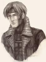 Gambit sketch by lonesheep