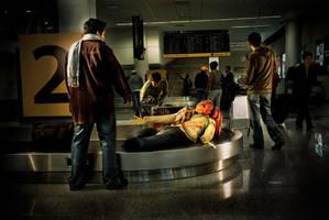 airport by Monocoello