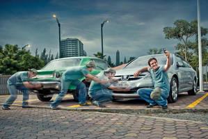 Car ad by Monocoello