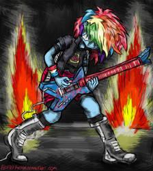 Rainbow Dash EG by FlutterThrash
