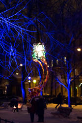 Lux Helsinki Light Festival - Lamp by lepafox