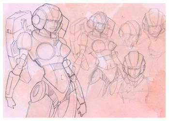 Arcee Sketches by baumanji