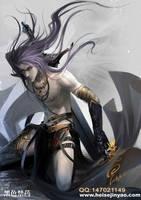 warrior in the dark by heise