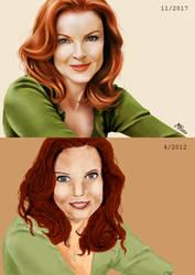 Draw this again - Bree Van de Kamp by monniart