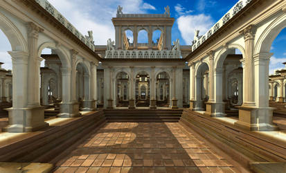 The palace of infinite wisdom and utter joy by elminino