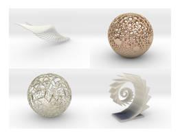 4 modelos (17 de abril) by elminino