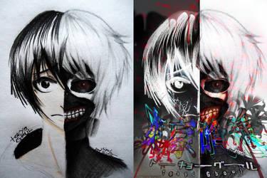 Tokyo Ghoul by ButterflyInMaze