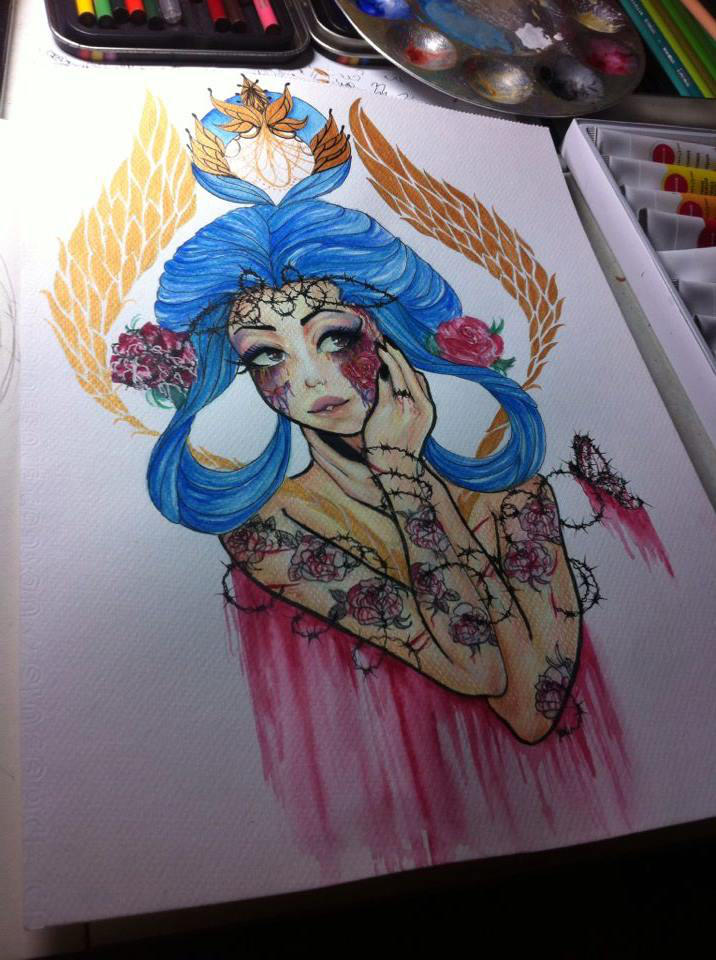 VANITY by ButterflyInMaze