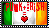 Irish Punk Stamp by CometSpazzes14