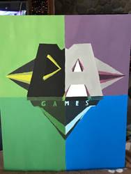 Fan Art: DAGames (Four Square Logo) by TheTARDISMistress