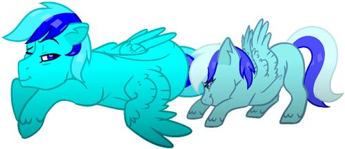 Request Box: Sky and Minty Gamer by TheTARDISMistress