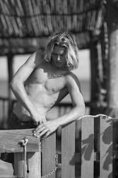 Gay dream blonde surfer model Nicco by Charles78