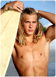 Hot Blond Surfer by Charles78