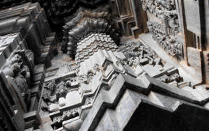 Belur Temple, Karnataka, India by HeyShiv