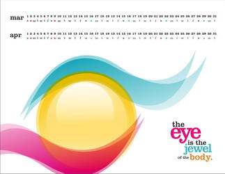Wallpaper Design Eye Care 2 by HeyShiv