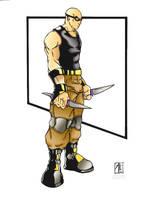 Riddick by dnmn89