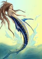 Marlin Maid/ Mermaid by quinnk