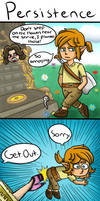 Legend of Zelda Breath of the Wild: Persistence by 4bitscomic