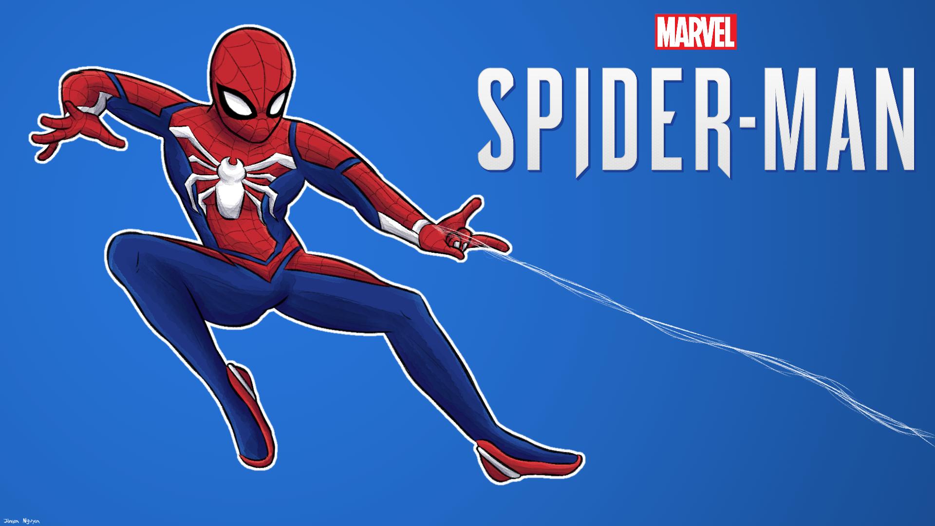 Marvel Spider Man Ps4 Wallpaper By 4bitscomic On Deviantart