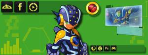 Rockman.EXE Facebook Banner by CP-BaM-BaM