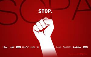 stop SOPA by michalkosecki