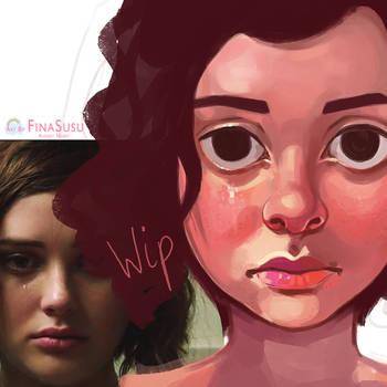 Hannah wip by FinaSusu