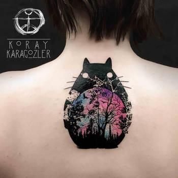 Totoro by koraykaragozler