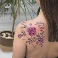Watercolor Flower by koraykaragozler