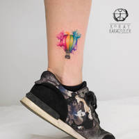 Watercolor Baloon by koraykaragozler