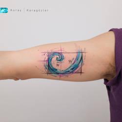 Fibonacci Spiral by koraykaragozler