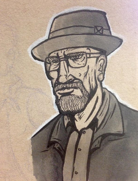 Walter White - Breaking Bad by ThePsychoticEnigma