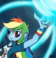 Equestria Girls - Rainbow Dash by MrAsianhappydude