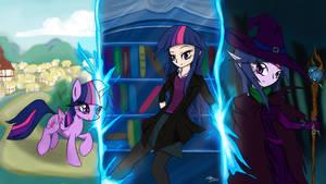 Transitioning Twilight by MrAsianhappydude