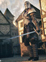 Medieval Knight by LaMuserie