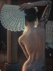 Girl From Japan 13 by LaMuserie