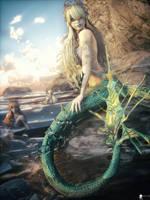 Mermaid 3 by LaMuserie