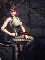 Steampunk Spirit 10 by LaMuserie