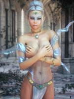 Nude Elfine 3 by LaMuserie