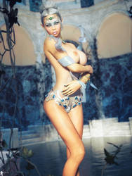 Nude Elfine 6 by LaMuserie