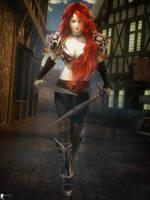 Huntress 8 by LaMuserie
