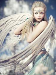 Angel Spirit 9 by LaMuserie