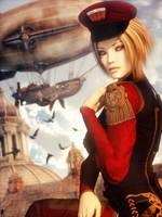 Steampunk Spirit 16 by LaMuserie