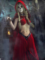 Santa Muerte Follow Me... by LaMuserie